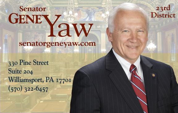 State Senator Gene Yaw