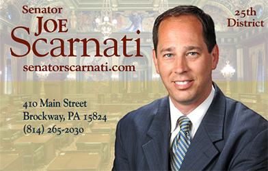 State Senator Joe Scarnati