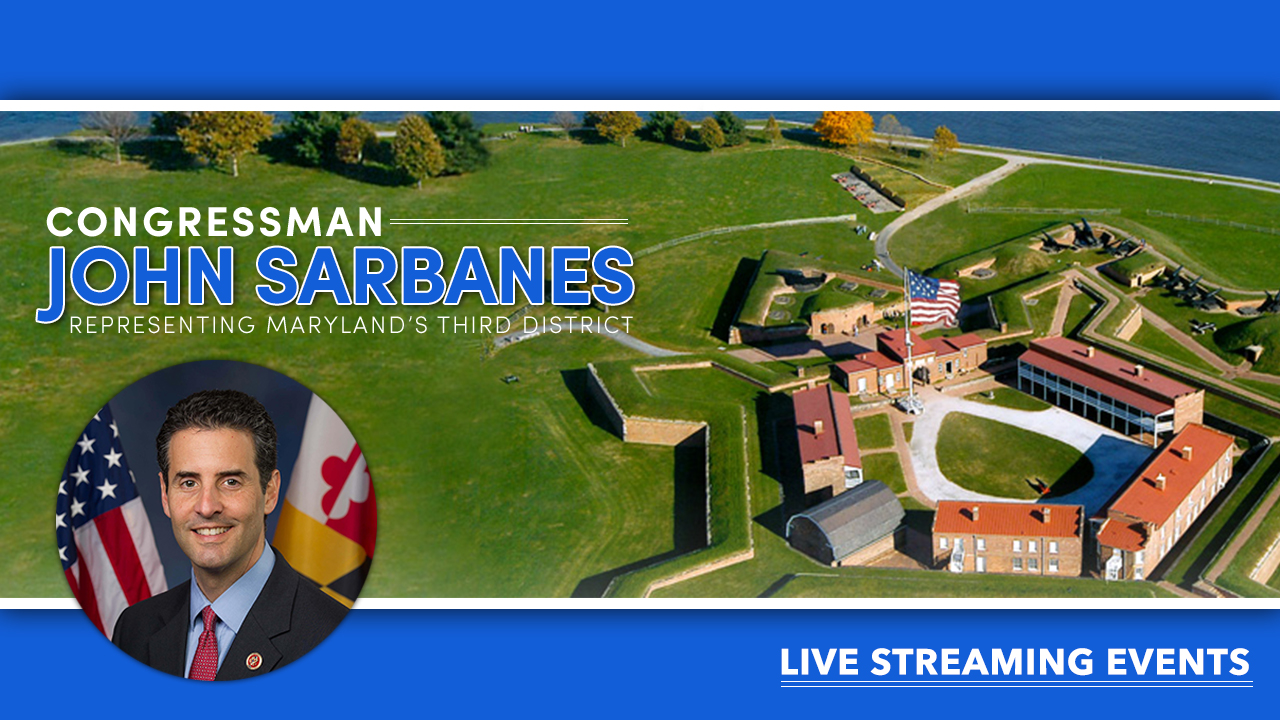 Congressman John Sarbanes