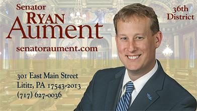 State Senator Ryan Aument