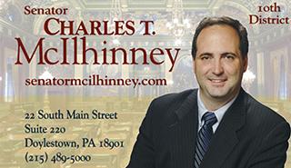 State Senator Chuck McIlhinney