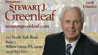 State Senator Stewart J. Greenleaf