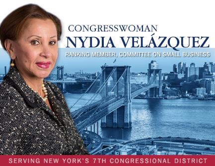 Congresswoman Nydia Velázquez