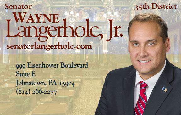 State Senator Wayne Langerholc, Jr.