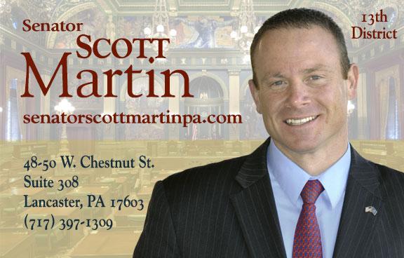 State Senator Scott Martin