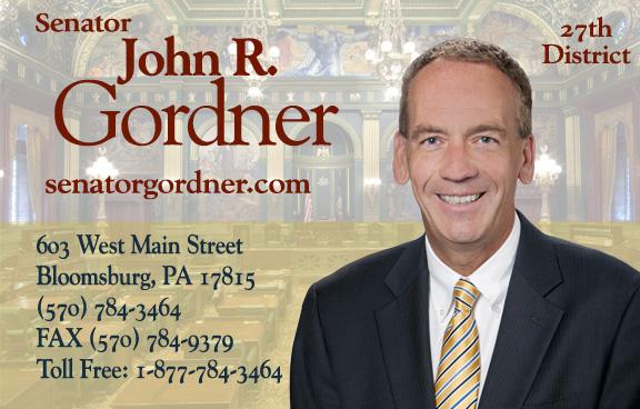 State Senator John R. Gordner