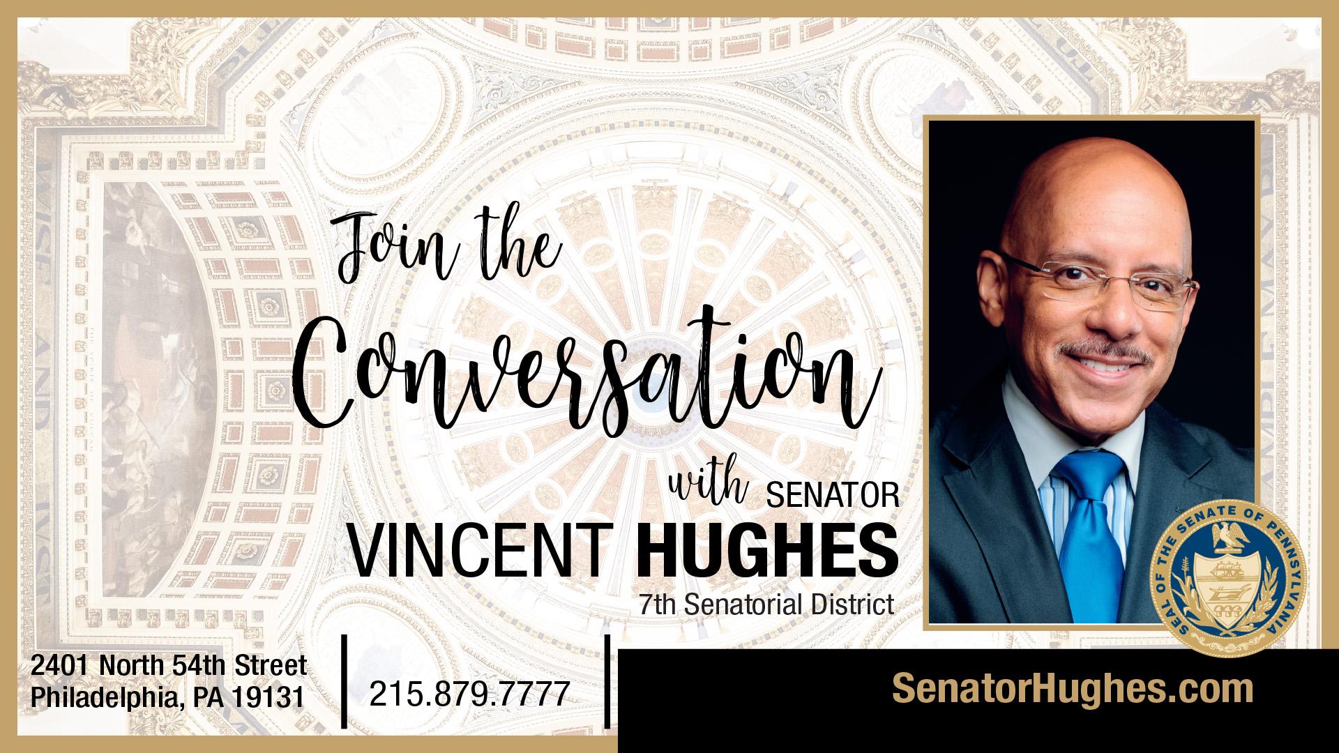 Pennsylvania State Senator Vincent Hughes