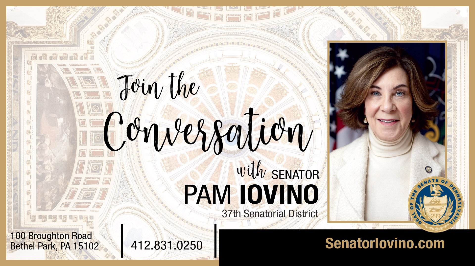 PA State Senator Pam Iovino