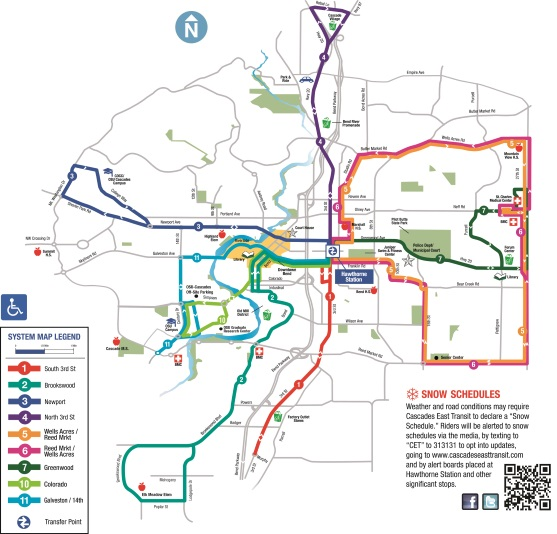 YOU'RE INVITED:  Live Community Town Hall to discuss Bend's transit system