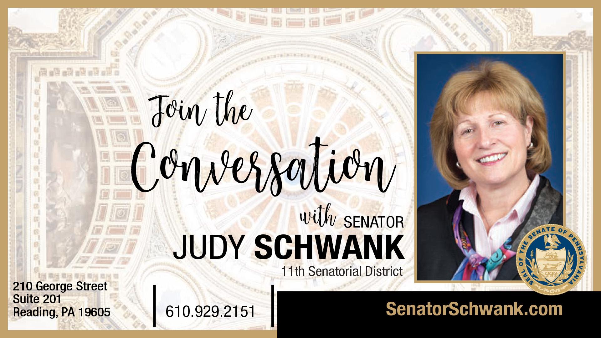 Pennsylvania State Senator Judy Schwank