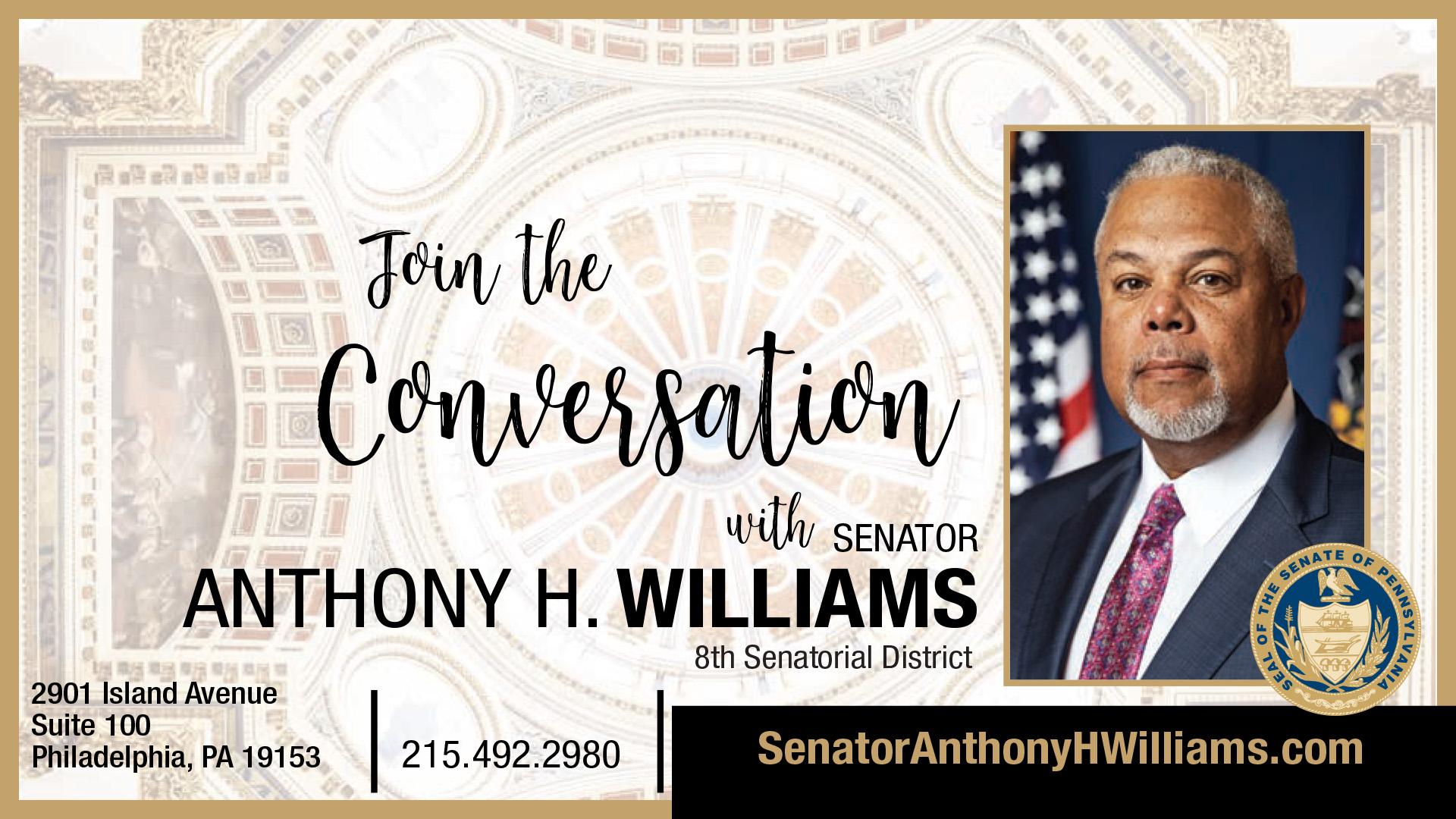 PA State Senator Anthony H. Williams