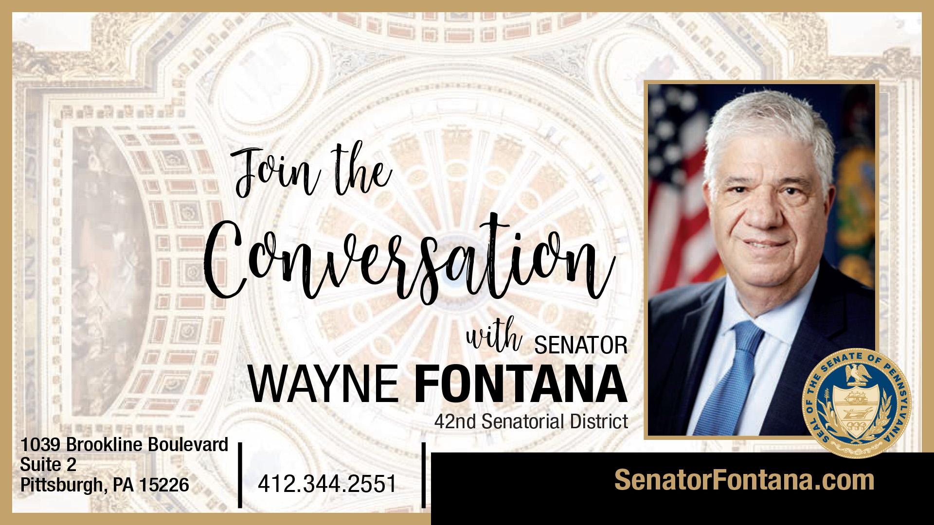 PA State Senator Wayne Fontana