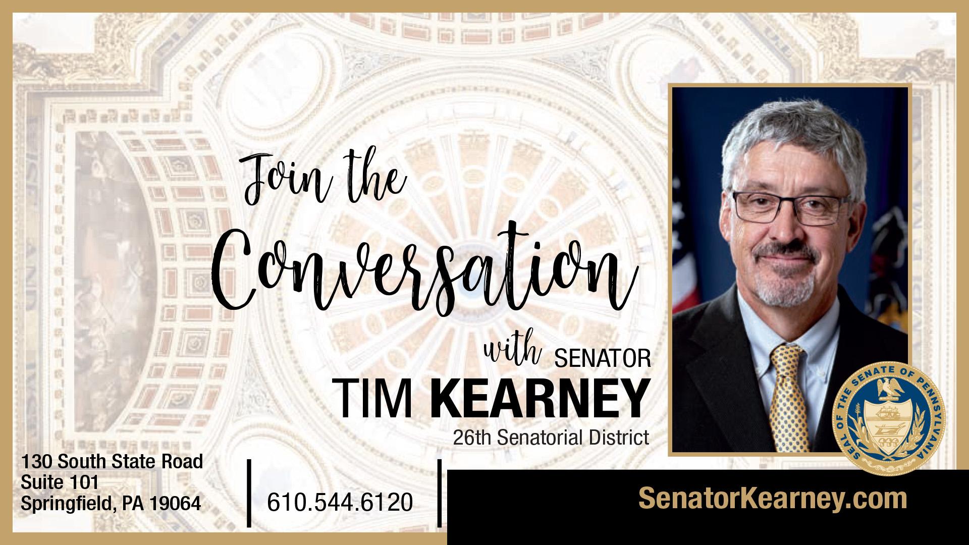 PA State Senator Tim Kearney