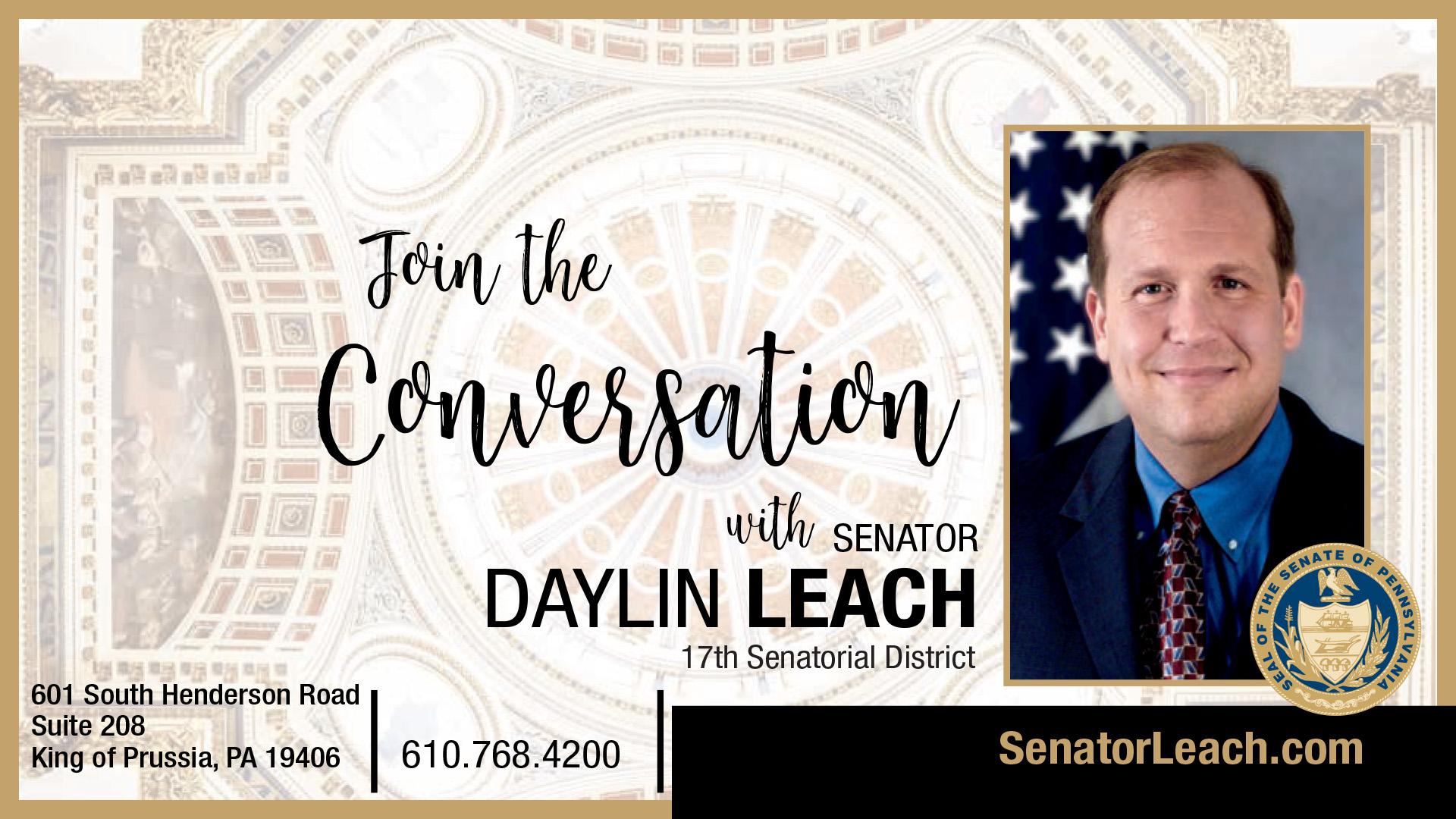 PA State Senator Daylin Leach