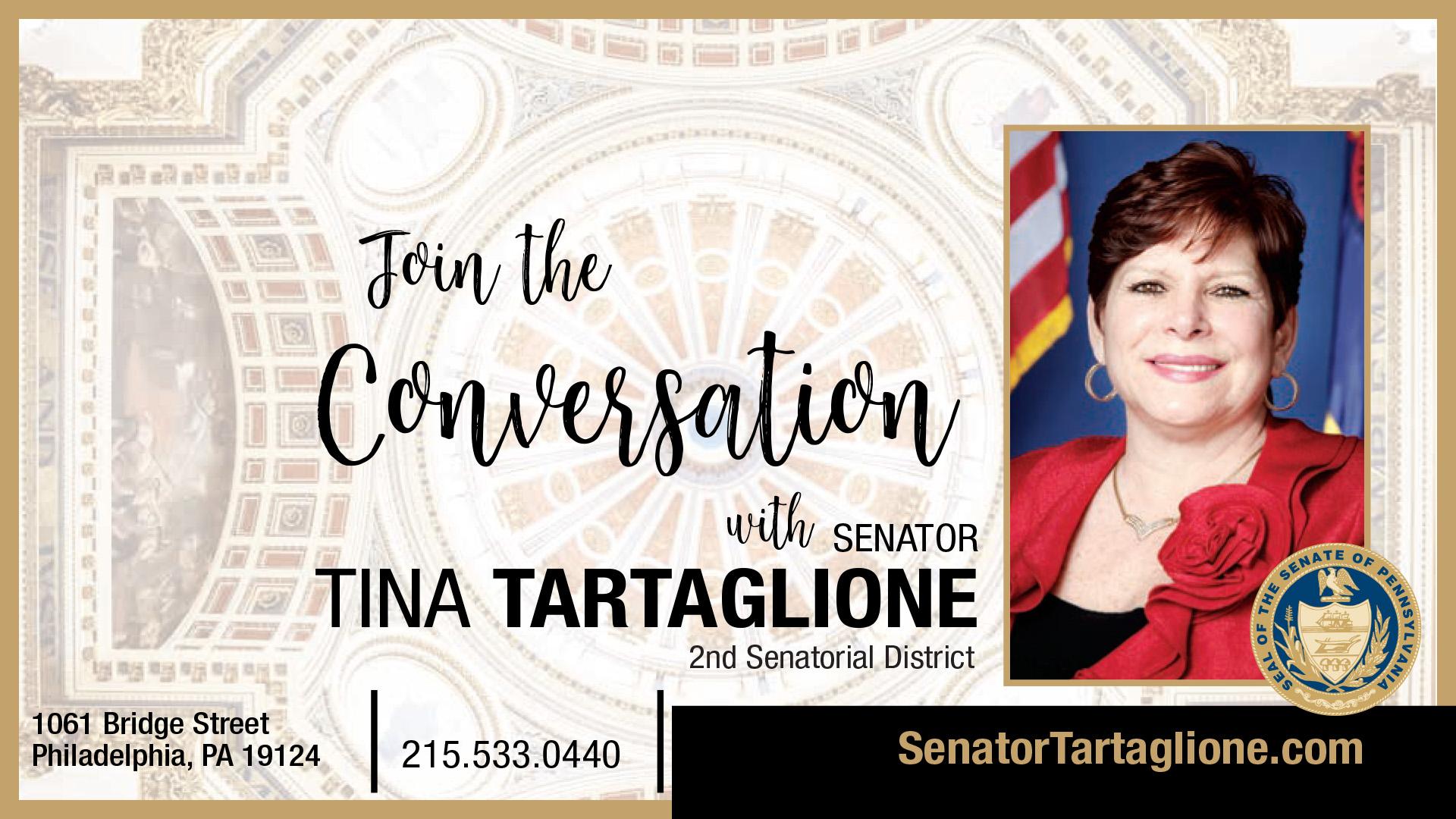 PA State Senator Tina Tartaglione