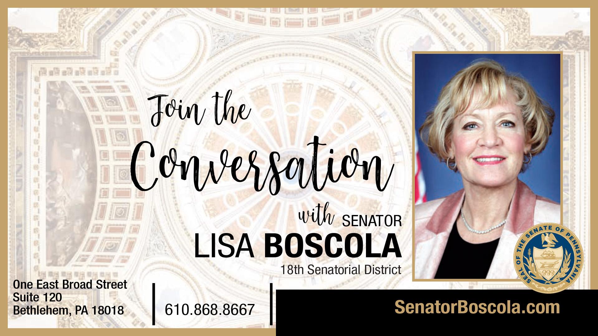 PA State Senator Lisa Boscola