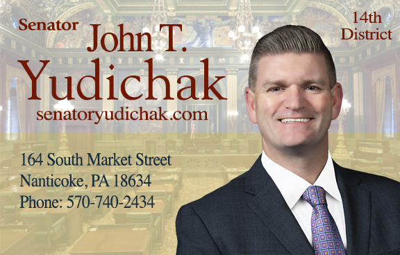 State Senator John Yudichak
