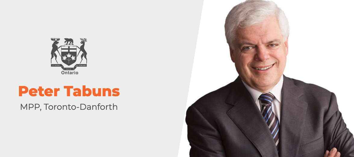 Peter Tabuns, MPP – Toronto-Danforth