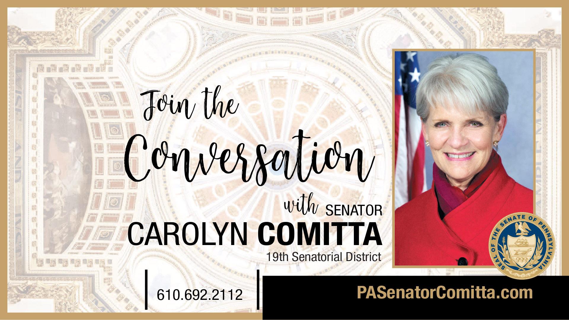 PA State Senator Carolyn Comitta