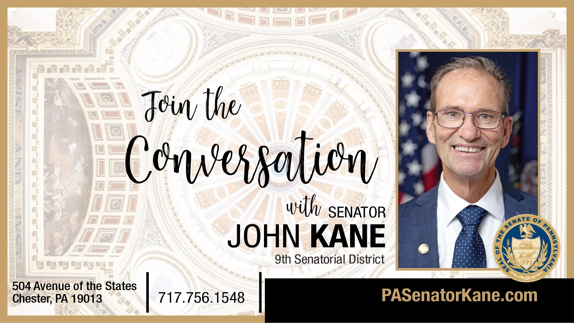 PA State Senator John Kane